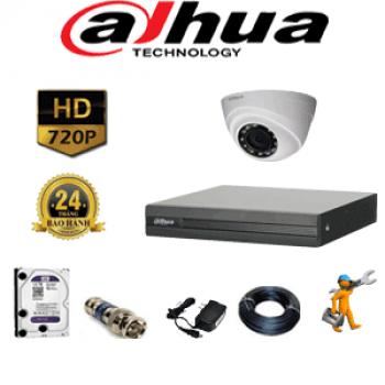 Trọn Bộ Camera Dahua 1080 FUL HD 1 Mắt