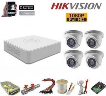 Trọn Bộ 4 Camera Hikvision 1080HD