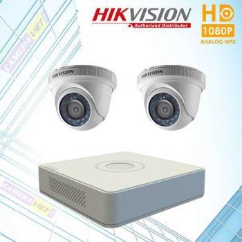 Trọn bộ 2 Camera Hikvision 1080HD