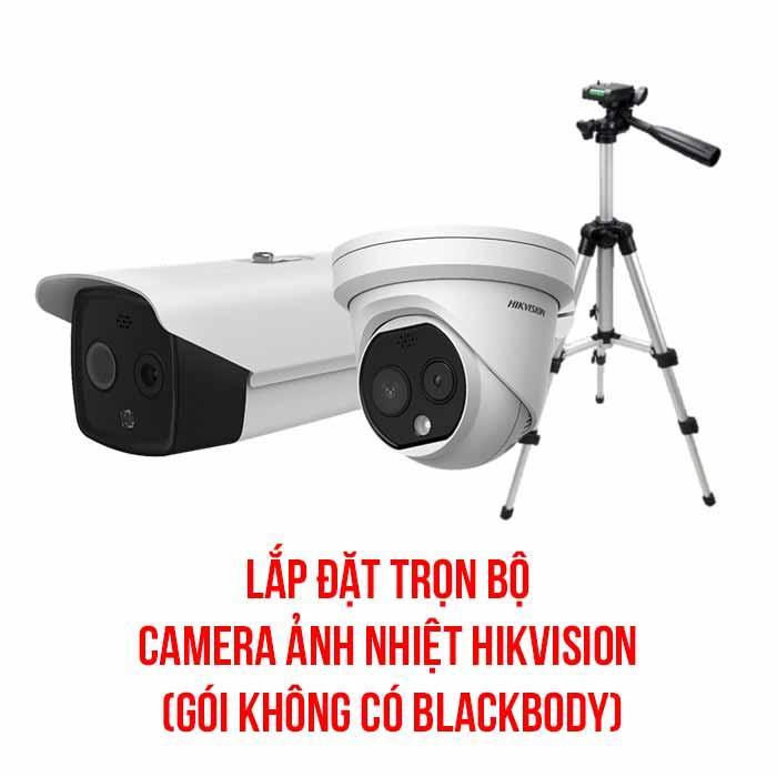 Lắp đặt trọn bộ camera ảnh nhiệt HIKVISION gói cơ bản