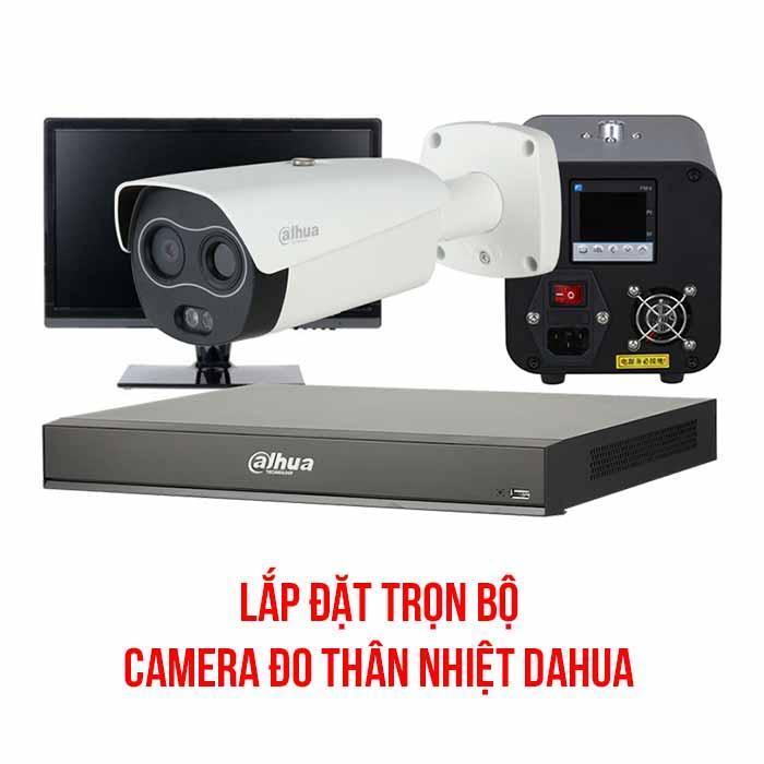 Trọn bộ camera đo thân nhiệt Dahua