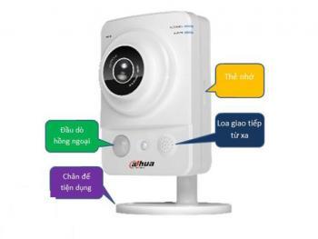 Camera không dây để bàn treo tường Dahua KW12WP độ phân giải HD720P