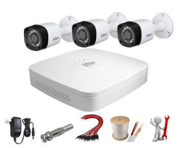 Trọn Bộ Camera Dahua 3 Mắt FUL HD 2.0 Ful HD